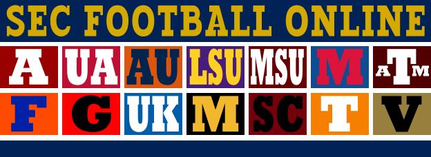 SEC Football Personal Checks Live Online