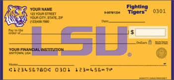 LSU Personal Checks