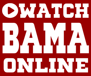 Watch Alabama Crimson Tide Football Online