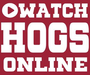 Watch Arkansas Razorbacks Football Online