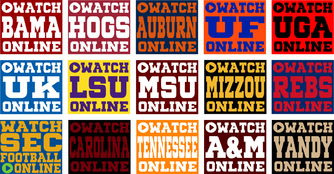 Watch SEC Football Games Online