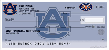 Auburn University Personal Checks